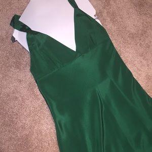 Beautiful Emerald Green J.Crew Silk Dress